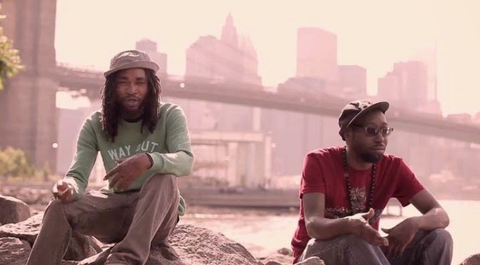 Vídeo - Hassaan Mackey & Kev Brown - Dope / Hassaan Be Rappin'