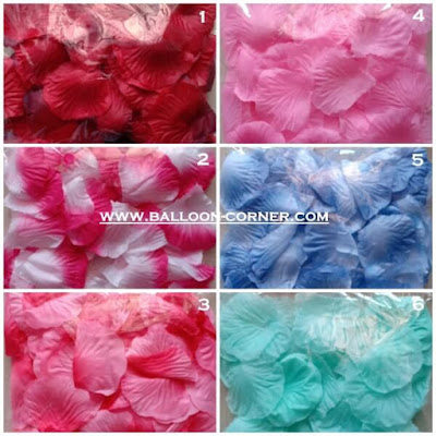 Kelopak Bunga Mawar Tiruan / Artificial Rose Petals (Small Pack)