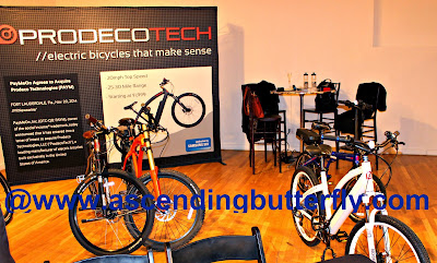 ProdecoTech Electric Bicycles on display at The Luxury Technology Show New York City March 2015