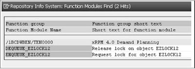 SAP ABAP - Lock Objects