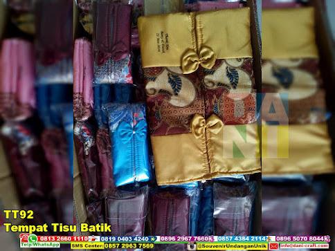 jual Tempat Tisu Batik