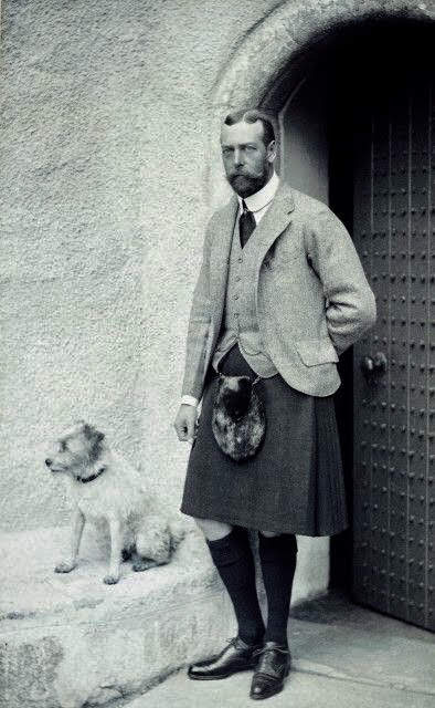 George V and Terrier