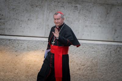 Vatican's Secretary of State, Cardinal Pietro Parolin.