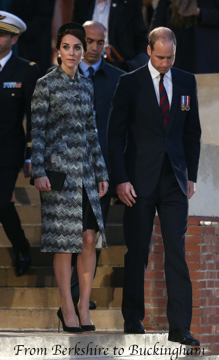 Updated  William and Kate Attend Somme 100 Vigil at Thiepval 054d9fbae