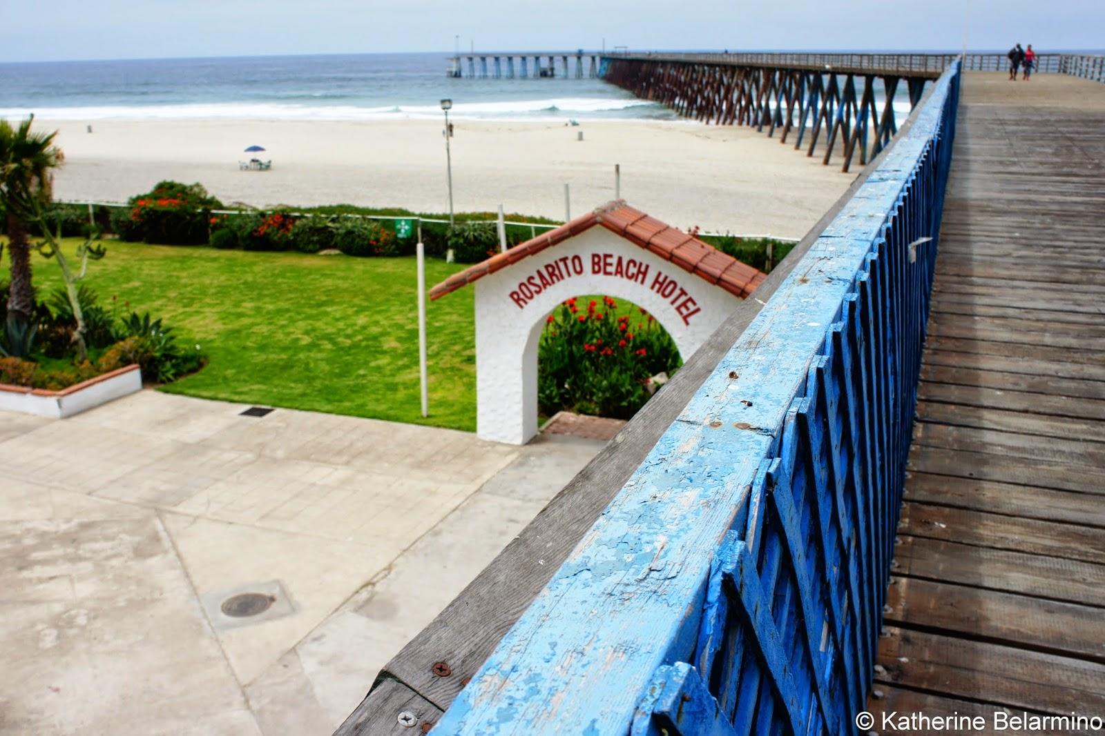 Rosarito Beach Hotel Pier Baja California Mexico