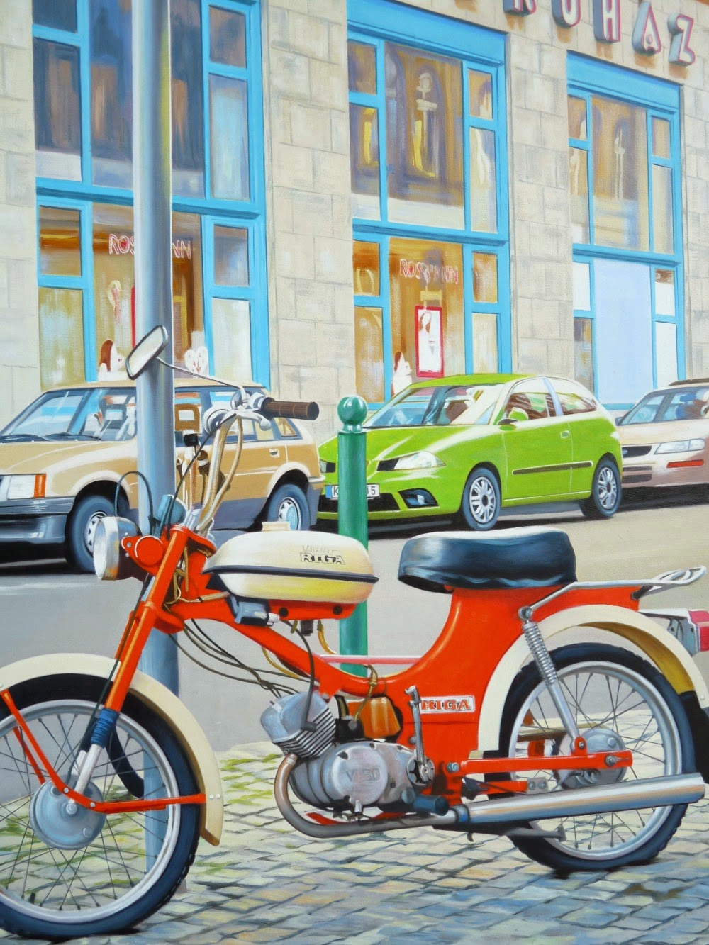 How to turn a favorite photo into an oil painting