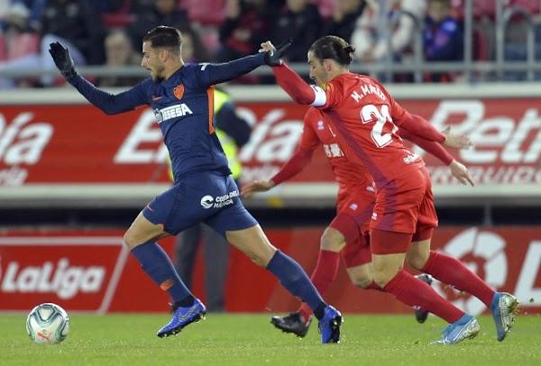 Numancia y Málaga firman tablas (0-0)