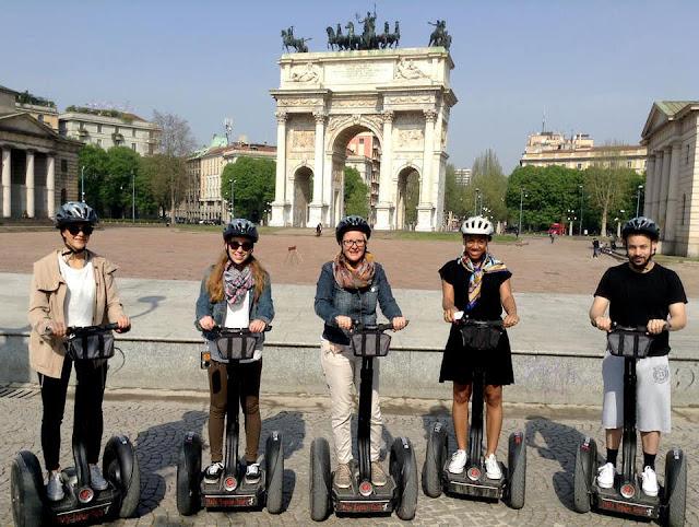 Tour privado de Segway em Milão