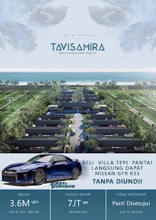 Beli Villa di Tepi Pantai Langsung Dapat Nissan GTR R35. TANPA DIUNDI!