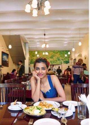 Radhika Apte poses for HT Brunch