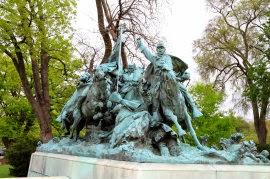Monumento en memoria del general Ulysses Grant