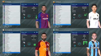 PES 2017 PTE Patch Unofficial 6.5.3 Option File 17/03/2019 ( Tattoo & No Tattoo )
