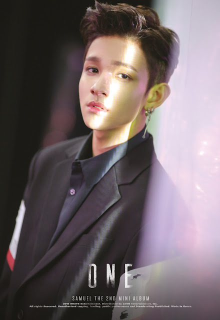 Samuel THE 2nd MINI Album 'ONE' Official Album Poster Image