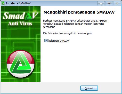 install smadav selesai