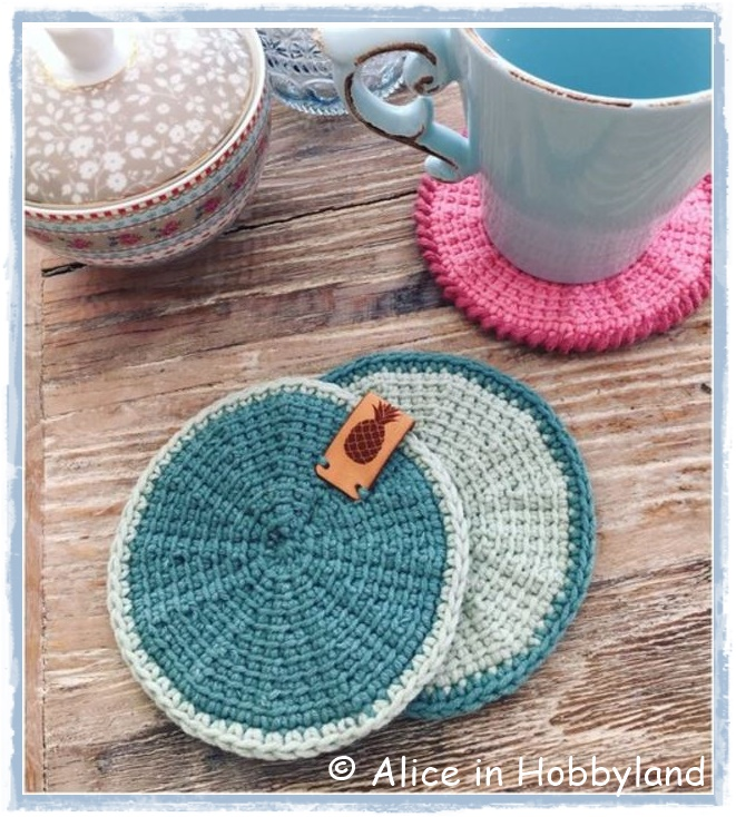 Alice In Hobbyland Workshop Rond Tunisch Haken Op De Knit Knot