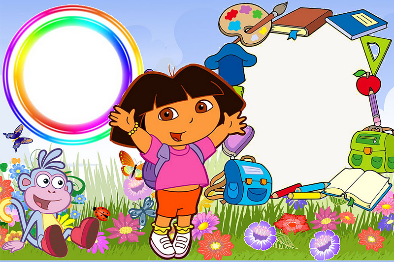 Dora The Explorer Invitations And Free Party Printables