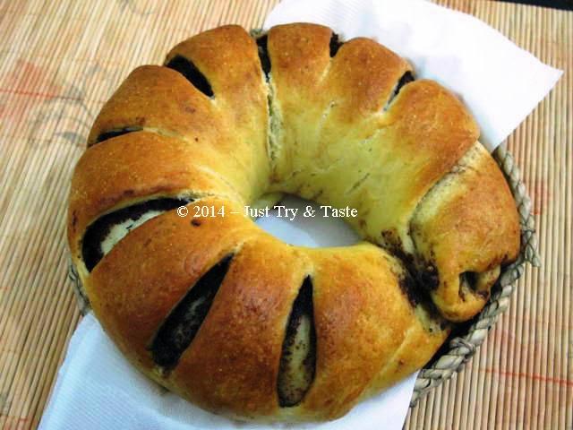 Obsesi Roti 10: Roti Gulung Isi Coklat Kacang