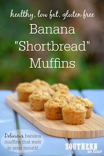 Healthy Gluten Free Banana Shortbread Muffins Recipe with Sorghum Flour