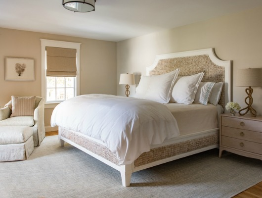Coastal Beige Elegant Bedroom