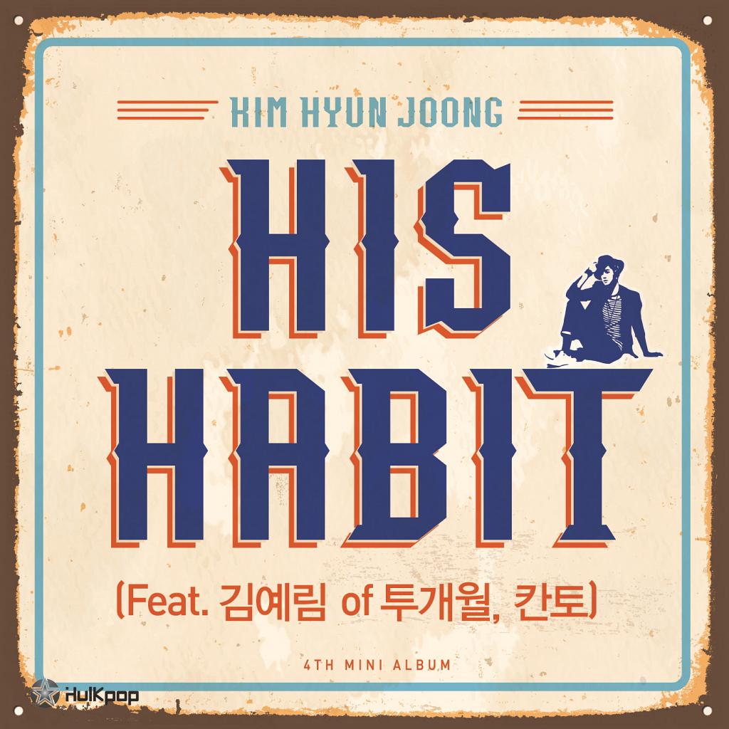 [Single] Kim Hyun Joong – HIS HABIT