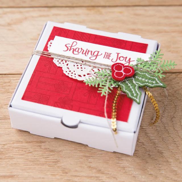 hộp giấy giáng sinh