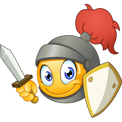 Knight Smiley | Symbols & Emoticons