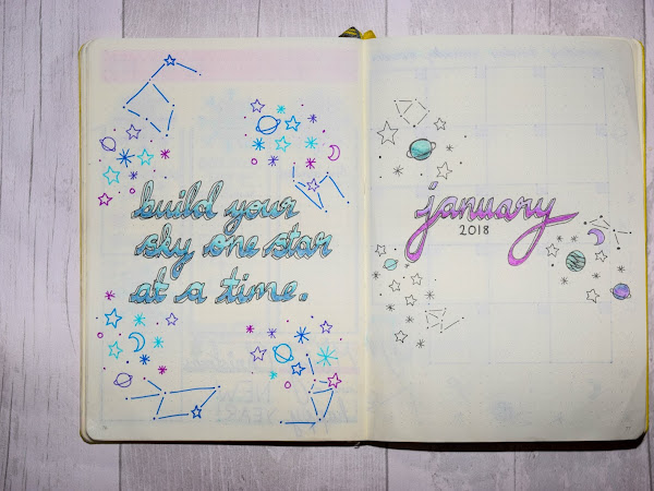 Bullet Journal | January Set Up