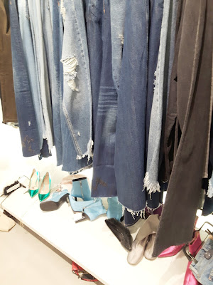image showing jeans rail in Zara