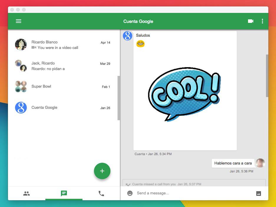 Esto es Google: Hagan más con Google: Disfruten de Hangouts