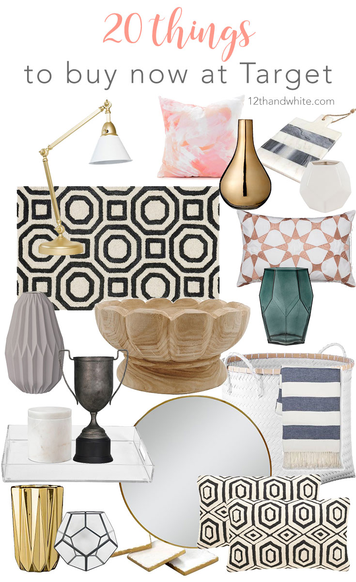 12th and White: 20 Things to Buy Now at Target {Decor Refresh}
