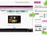 TubeChop, Cara Bikin Klip Pendek Dari YouTube