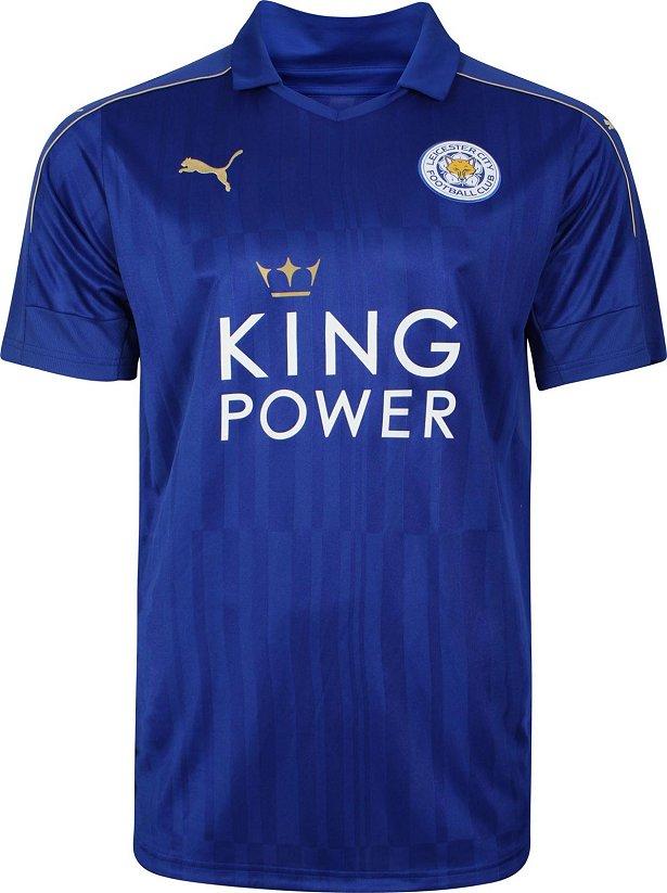c73896556e Puma apresenta as novas camisas do Leicester - Show de Camisas