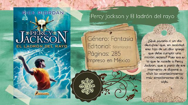 Percy Jackson y El ladrón del rayo - Rick Riordan
