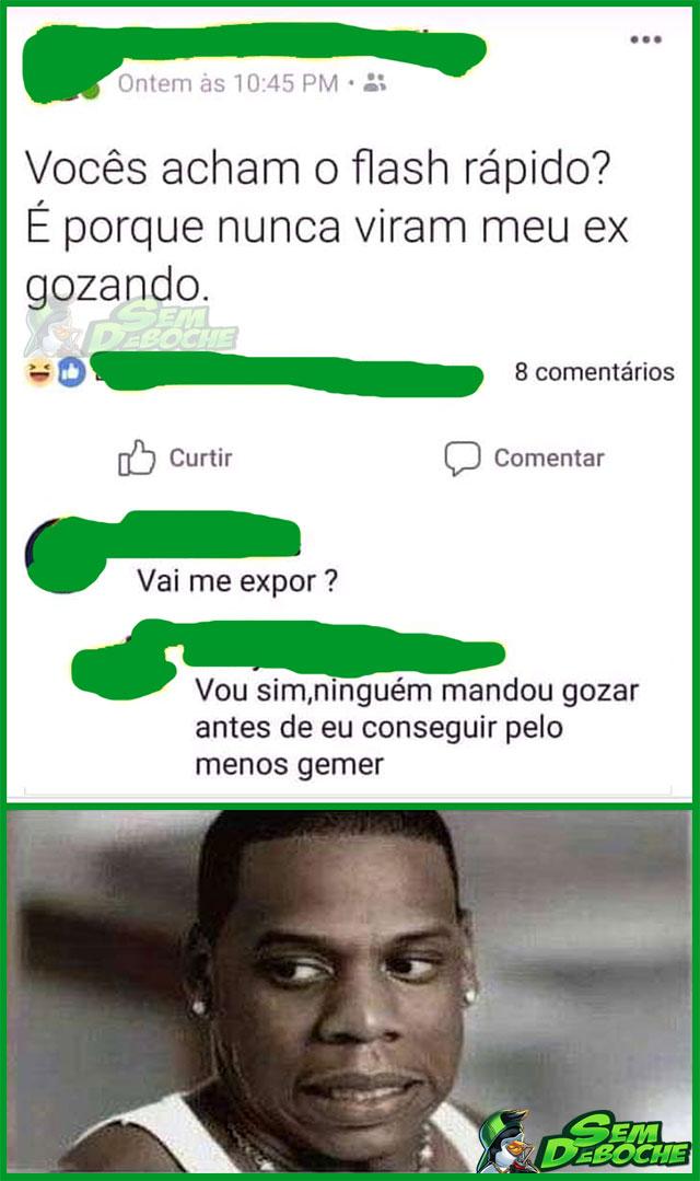 EXPONDO O EX PRA TODO MUNDO VER