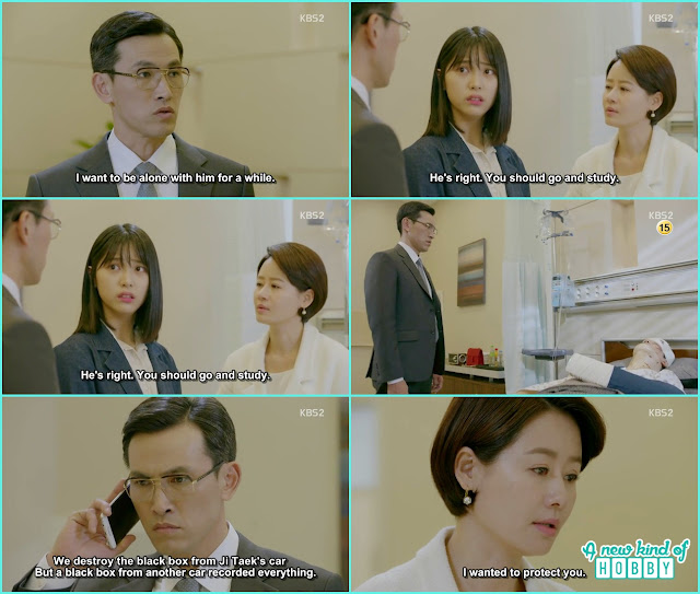 prosecutor choi now know ji taek accident was his wife doing  - Uncontrollably Fond - Episode 19 Review