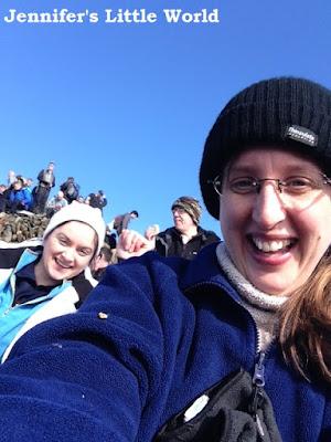 Bloggers climbing Snowdon