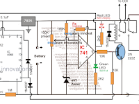 Generator/UPS/Battery Relay Changeover Circuit