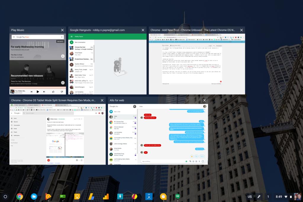 Chromebook-multitasking