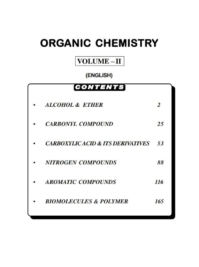 ORGANIC CHEMISTRY VOLUME 2 BY BANSAL CLASSES