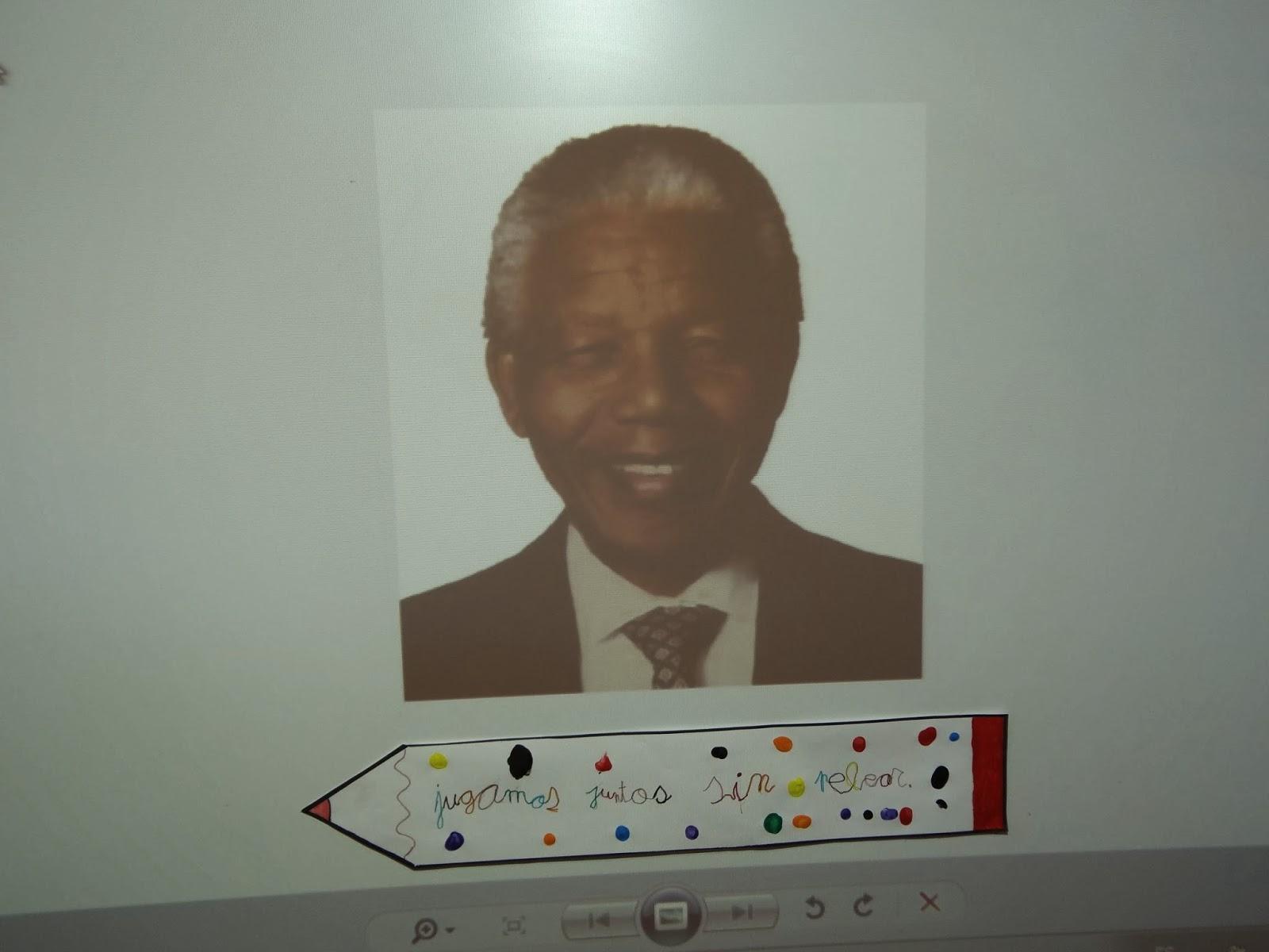 Mira El Mundo Con Sus Ojos La Paz Y Nelson Mandela