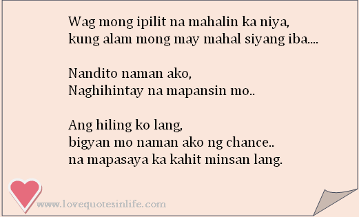 Tagalog Love Quotes For Her-him