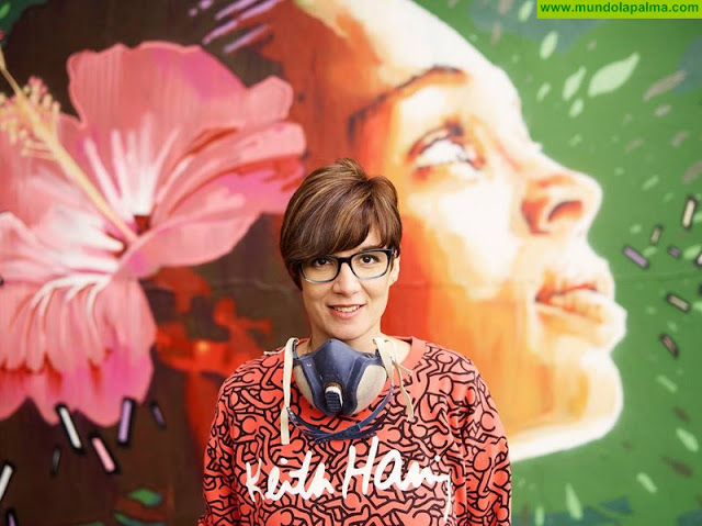Eva Mena será la autora del mural del IV Festival dePASO