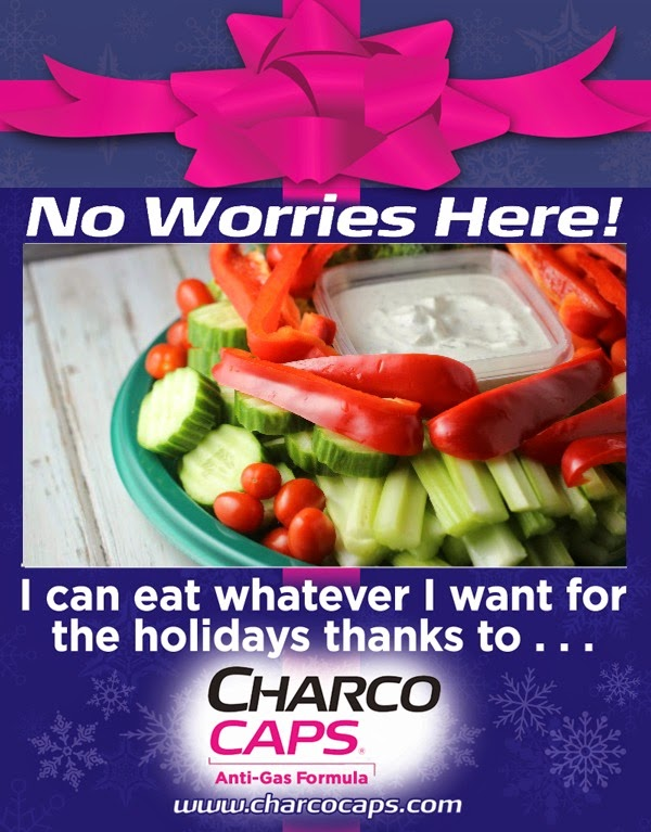 No worries with Charcocaps®