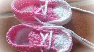 Zapatillas de Verano para Bebés / Tutorial Crochet