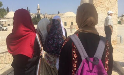 Wanita Brazil Ini Mengucapkan Syahadat Islam Di Al-Aqsa