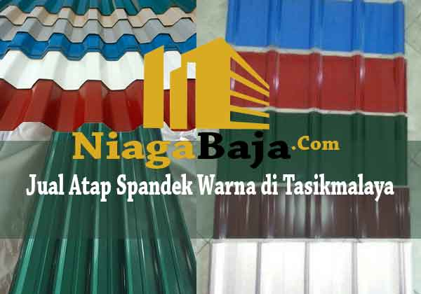 Jual Atap Spandek Warna di Tasikmalaya - Harga Murah Berkualitas