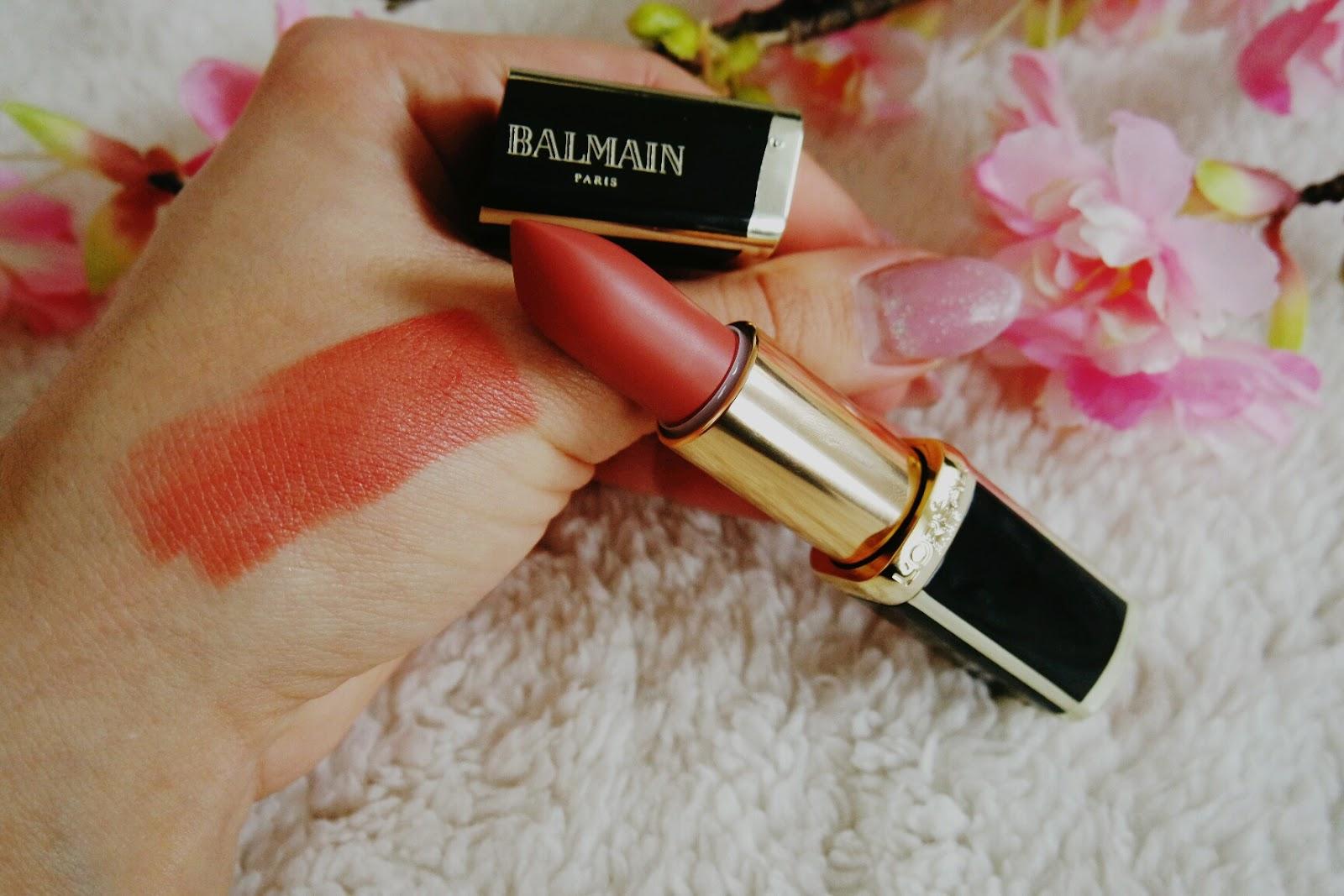Balmain Confession Lippenstift Swatch