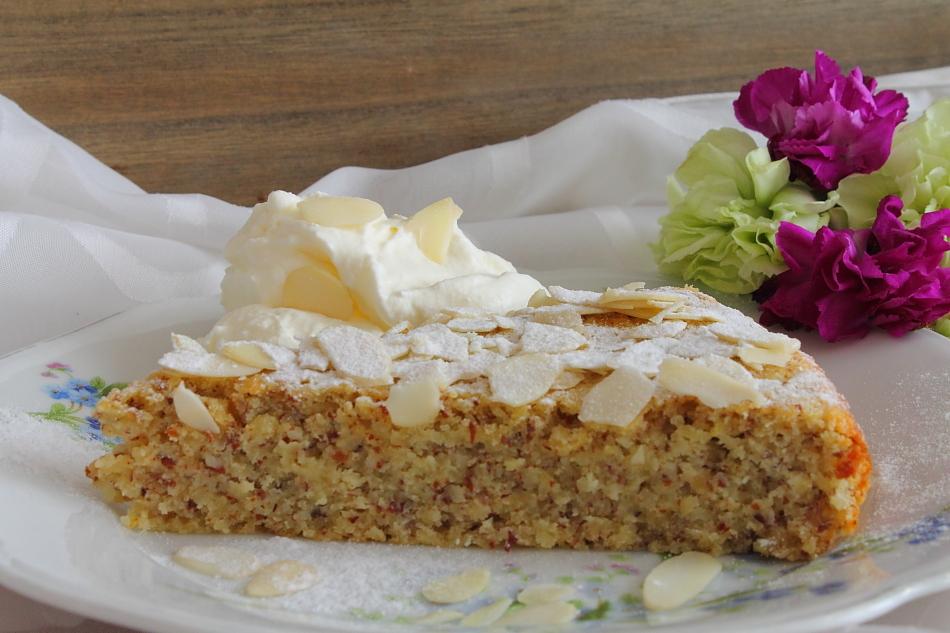 Ricotta Mandel Kuchen Tortenschlaraffenland