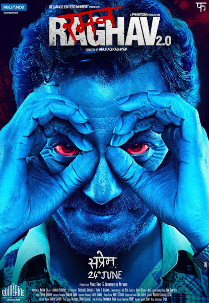 Poster Of Raman Raghav 2.0 (2016) 720p Hindi DVDRip Full Movie Download