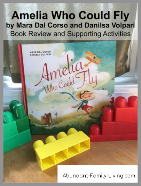 Amelia Who Could Fly by Mara Dal Corso and Daniela Volpari